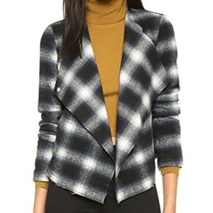 BB Dakota Quinn Plaid Jacket